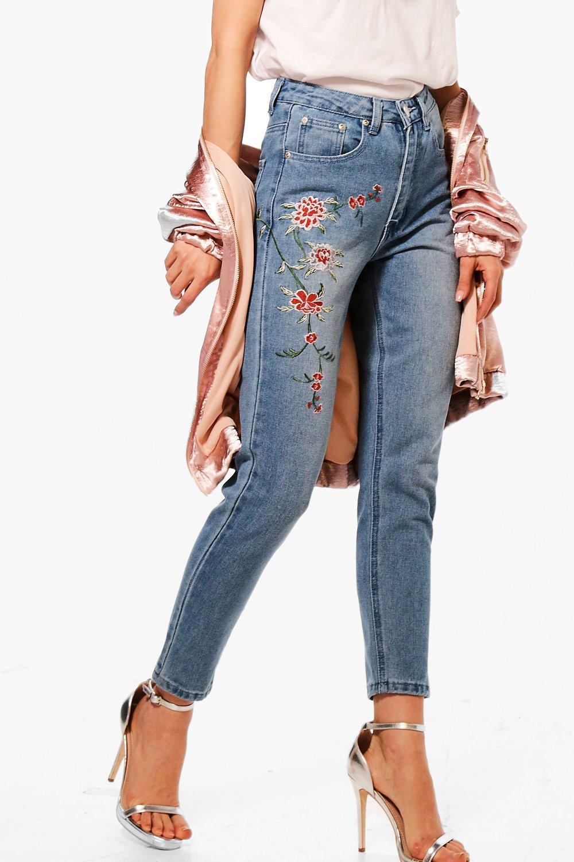 jeans ricamati